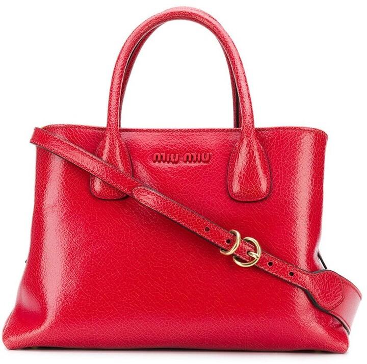 c8b450afa94b Miu Miu Top Handle Bag - ShopStyle