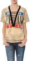 Singer22 Exclusive Acid Wash Ladder Vintage Tee