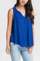 Lush Mazarine Blue Top