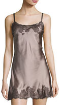 Josie Lolita Scalloped Silk Chemise