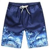 AMUR LEOPARD Men's Water Shorts Swim Shorts L