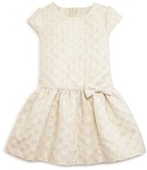 Kate Spade Girls' Jacquard Dot Shimmer Dress - Sizes 2-6