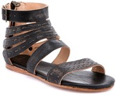 Bed Stu Strappy Leather Back-Zip Sandals - Artemis