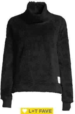 Calvin Klein Sherpa Mockneck Pullover