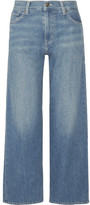 Vince High-rise Wide-leg Jeans - Mid denim