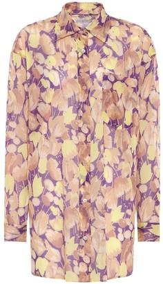 Dries Van Noten Printed cotton shirt