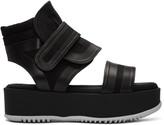 Marni Black Velcro Platform Sandals
