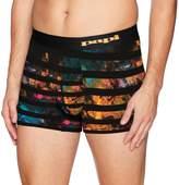 Papi Men's Intergalactic Mid Trunk Underwear, -, L