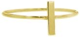 Jennifer Meyer Bar Stacking Ring - Yellow Gold