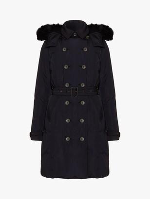 Phase Eight Nicole Faux Fur Puffer Coat