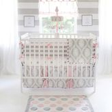 My Baby Sam Olivia Rose 4-Piece Crib Bumper Set
