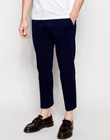 Asos Skinny Trousers In Jersey