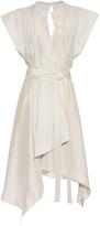 Isabel Marant Lief wrap-front silk dress