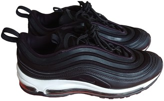 Nike 97 Black Suede Trainers
