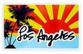 Rebecca Minkoff Travel Sticker Los Angeles