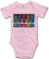 MIULIN Newborn Boy Girls Infant Power Rangers Jumpsuit Bodysuit Clothes