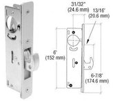 C.R. LAURENCE DL2130A CRL 31/32 Backset Narrow Stile Hook Latch Deadlock by C.R. Laurence