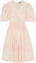 Simone Rocha Printed silk mini dress
