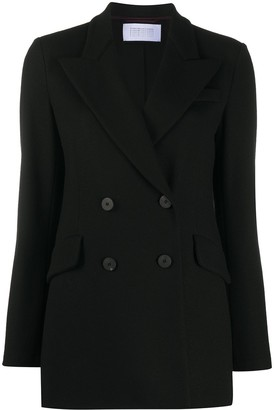 Harris Wharf London Slim-Fit Double Breasted Blazer
