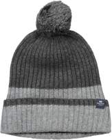 Nautica Men's Colorblock Pom Hat