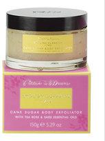 Potter & Moore - Tea Rose & Sage Cane Sugar Body Exfoliator - 150 g