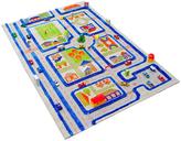 59'' Blue Traffic 3-D Play Mat