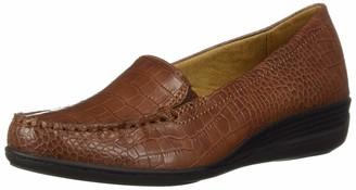 Naturalizer SOUL Women's WILAMINA Loafer tan 7 M US