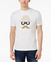 Original Penguin Men's Slim-Fit Binoculars and Stache Graphic Print T-Shirt