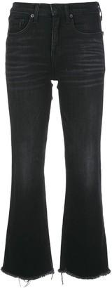 Nili Lotan High-Rise Flared Jeans