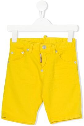 DSQUARED2 Stretch Denim Shorts