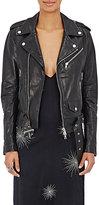 AMIRI Women's Leather Moto Jacket
