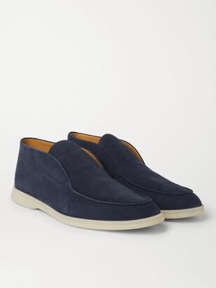Loro Piana Open Walk Nubuck Boots
