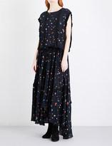 Preen Line Taylor floral-print crepe maxi dress
