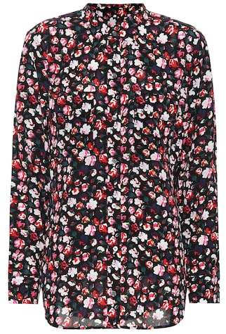 Equipment Floral crêpe shirt