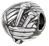 Zable Knitting Hobbies Professions Sterling Silver Charm