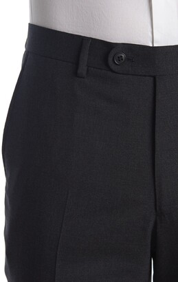John Varvatos Collection Nested Charcoal Wool Suit