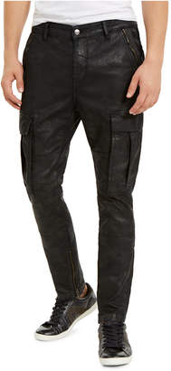 GUESS Men Stretch Denim Cargo Pants