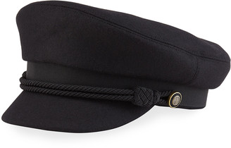 Saint Laurent Casquette Newsboy Cap