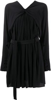 No.21 Belted Mini Dress
