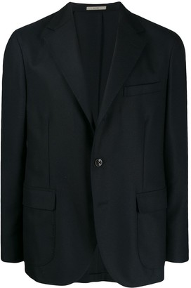 Boglioli Flap Pocket Button Blazer