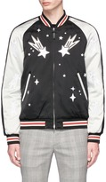 Coach 'The Stooges' embroidered reversible souvenir jacket