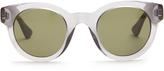 Gucci Round-frame bi-colour acetate sunglasses
