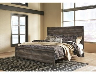 Laurel Foundry Modern Farmhouse Agustin Standard Bed Size: King