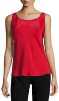 Lafayette 148 New York Charmeuse Silk Bias Tank