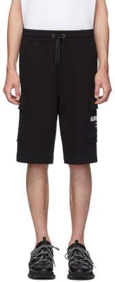Burberry Black Logo Ailford Shorts