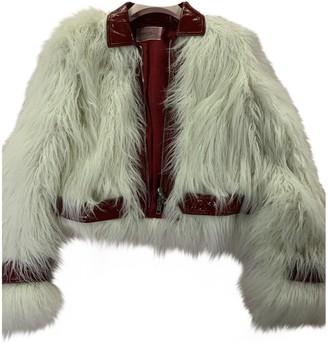 Giambattista Valli X H&m White Faux fur Coat for Women