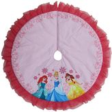 Disney Princess Ariel, Cinderella & Belle Christmas Tree Skirt