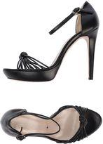 GOOD ON HEELS Platform sandals