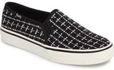 Keds Double Decker Bouclé Slip-On Sneaker (Women)