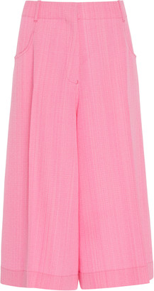 Jacquemus Le Short D'Homme Pleated Silk-Blend Culottes